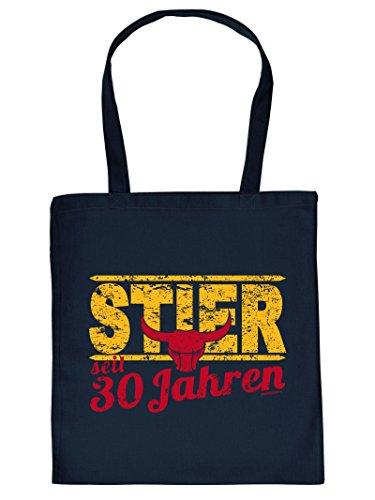 Stier Henkeltasche Beutel mit Aufdruck Tragetasche Must-have Stofftasche Tote Bag Geschenkidee Fun Einkaufstasche