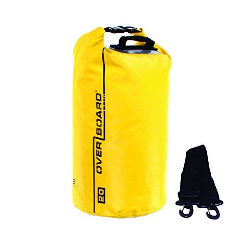 Overboard Waterproof Dry Tube Bag, Yellow, 5-Liter