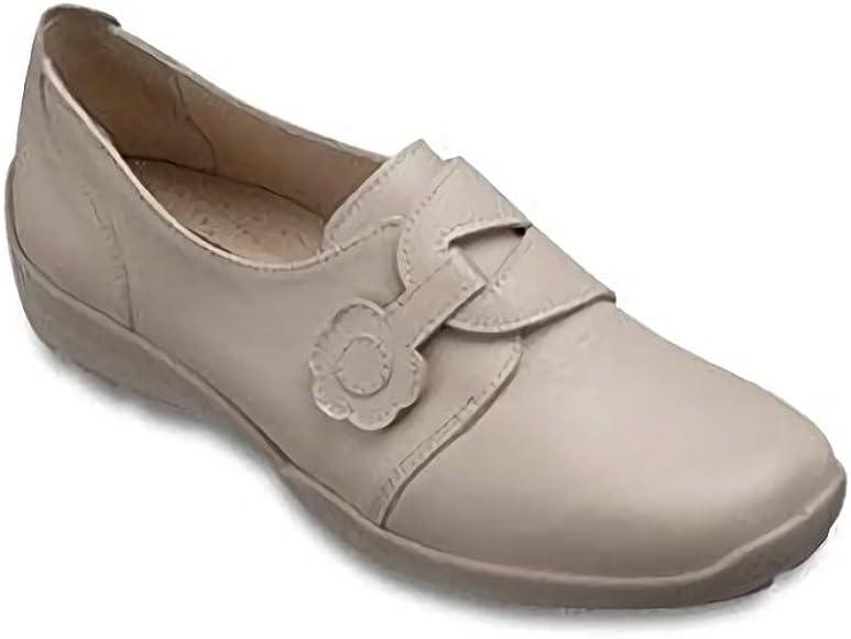 Women Wide EEEE Casual Shoes (3, Beige
