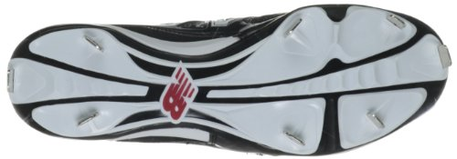 New Balance Herren M4040 Metal Mid Baseballschuh Schwarz