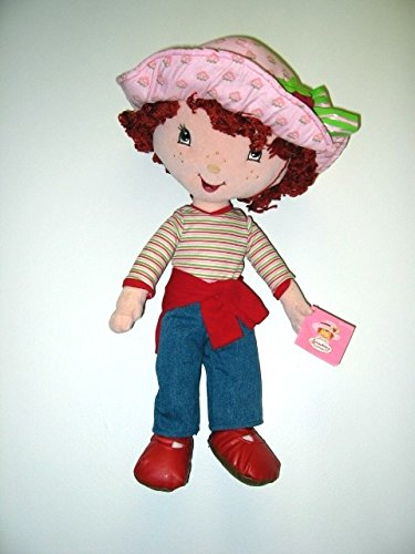 Strawberry Shortcake Plush Doll wearing Jean Outfit (18