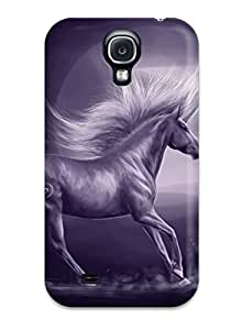 RobertWRay RRNapZI11036dILtB Case Cover Skin For Galaxy S4 (unicorn Horse Magical Animal Moon )