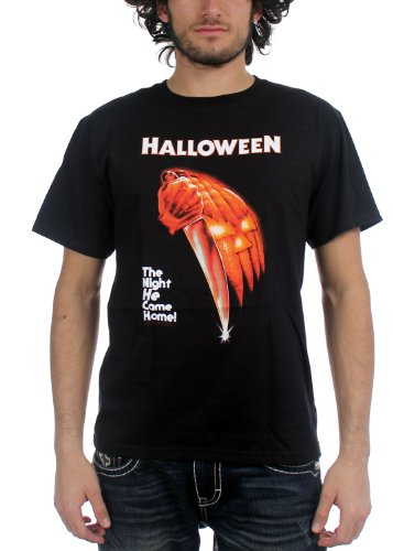 (Halloween Men's Night He Came Home T-Shirt Medium)