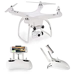 UPair Drone One Plus 4K HD Panasonic Camera, Live Video GPS Quadcopter Gimbal, Mobile Version Headless Mode/Altitude Hold/One Key Return/Adjustable Wide-Angle Follow Me Function