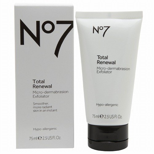 Boots No7 Total Renewal Micro-Dermabrasion Exfoliator 2.5 fl oz (75 ml)
