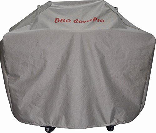 BBQ Coverpro - Environmental Protection BBQ Grill Cover (55x22x46) Brown for Weber, Holland, Jenn Air, Brinkmann and Char Broil & More-PVC - Chocolate Buckle Laminated