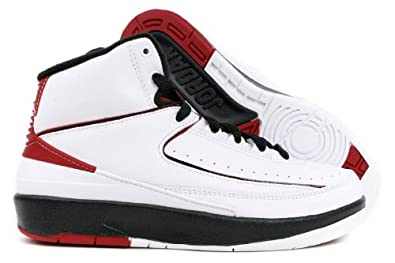 d055f10b78ca Image Unavailable. Image not available for. Color  NIKE AIR JORDAN 2 RETRO  (GS) BIG KIDS ...