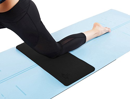 Heathyoga Yoga Knee Pad, Great for Knees and Elbows While Doing Yoga and Floor Workouts, Kneeling Pad for Gardening, Yard Work and Baby Tub. 26″x10″x½ – DiZiSports Store