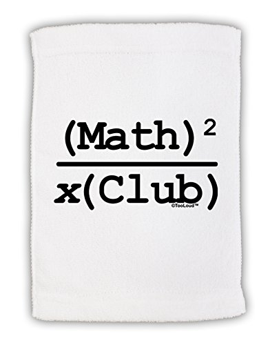 TooLoud Math Club Micro Terry Sport Towel 11