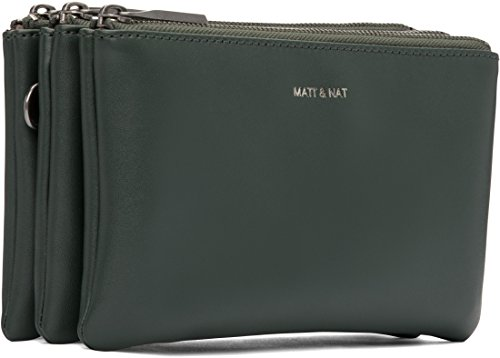 Matt and Nat Triplet Loom Crossbody Bag, Forest