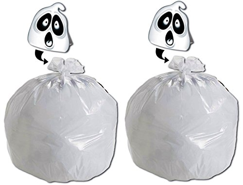 Large Halloween Leaf Bags - 35