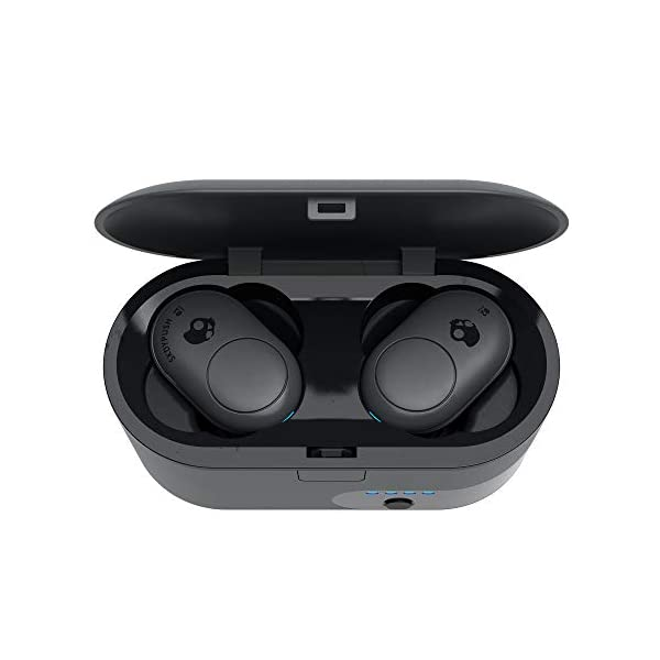 Skullcandy Push True Wireless Bluetooth in-Ear Headphones with Microphone - Dark Gray 2021 July Bluetooth Connectivity Includes Microphone Colour: Dark Gray