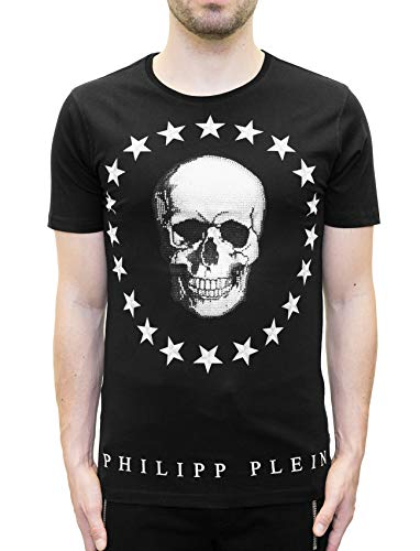 """Coleman"" T-Shirt with Graphic Skull Print (S)"