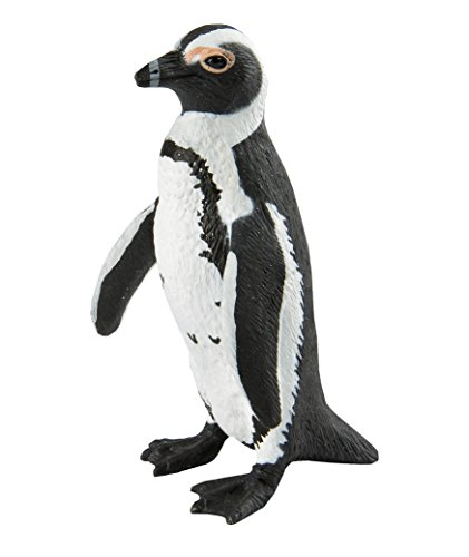Safari Ltd. African Penguin – Realistic Hand Painted Toy Figurine Model – Quality Construction from Phthalate, Lead and BPA Free Materials – For Ages 3 and Up