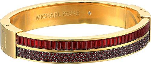Baguette Gold Tone Bracelet - Michael Kors