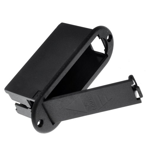 Kmise A1102 1 Pack 9v Battery Holder Case for Active Guitar Bass Pickup No Metal Contact