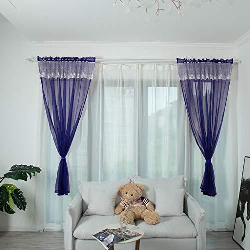 BeautyShe Willow Tulle Voile Door Window Curtain Drape Panel Sheer Scarf Valances