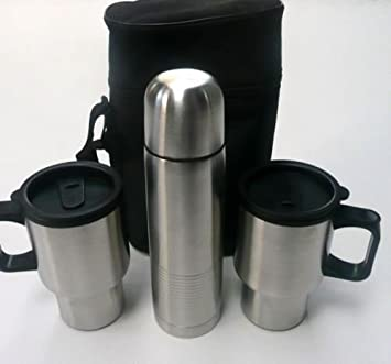 CaseAmazon Mug co 3 uk Travel And Stainless Steel Set Piece clF35T1uKJ