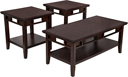Flash Furniture Signature Design by Ashley Logan 3 Piece Occasional Table Set For Sale