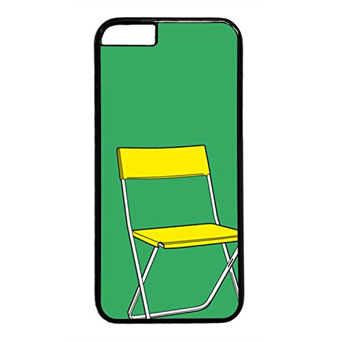 Personalize Chair Logo Case for iPhone 6 (4.7Inch) PC Materail Black