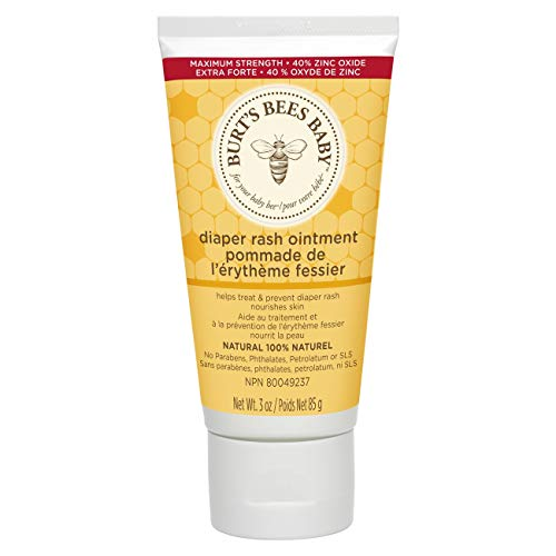 Cream Bottom (Burt's Bees Baby 100% Natural Diaper Rash Ointment - 3 Ounces Tube)