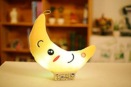 Mejor descuento/® LED Light Up Colorful Almohada peluche coj/ín mu/ñeca