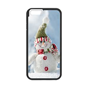iPhone 6 4.7 Inch Cell Phone Case Black Christmas Snowman SU4431033