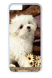 Lovely Animals-White Dog Slim Hard Diy For SamSung Note 4 Case Cover PC White s