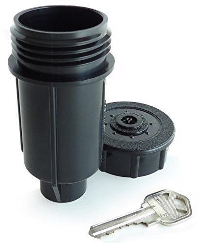 Exterior Sprinkler Heads : Outdoor security sprinkler head spare key hider home