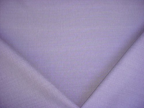 180H17 - Lilac Brushed Cotton Designer Upholstery Drapery Fabric - By the Yard ()