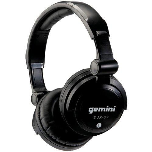 GEMINI DJX-07 Professional DJ Headphones (Full Size)