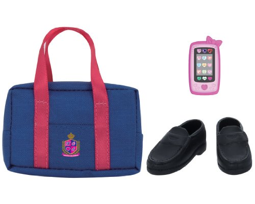 Rika -chan Harajuku Girls School Corde goods set SEIFUKU school bag by TOMY