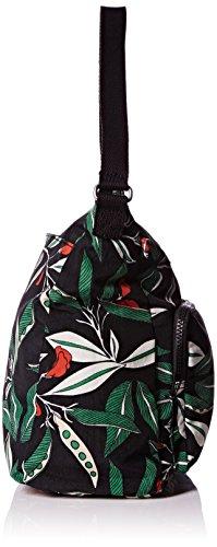 Kipling Tasmo - Bolso de hombro Mujer Multicolor (Latin Flower Pr)