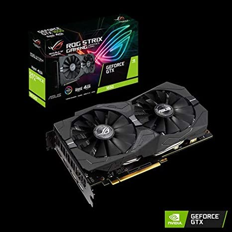 ASUS ROG -STRIX-GTX1650-A4G-GAMING GeForce GTX 1650 4 GB ...