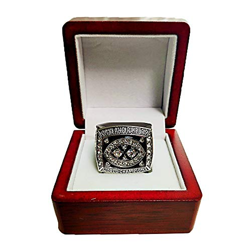 - Gloral HIF Oakland Raiders Championship Ring Super Bowl XV 1980 Replica Ring sz 11 with Display Wooden Box