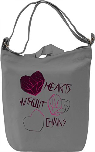 Hearts Without Chains Borsa Giornaliera Canvas Canvas Day Bag| 100% Premium Cotton Canvas| DTG Printing|