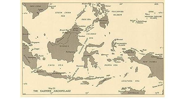 Amazon.com: Eastern Archipelago Ports 1944. East Indies ...