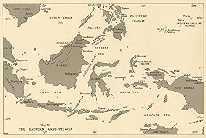 Amazon.com: Eastern Archipelago Ports 1944. East Indies ...