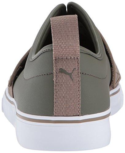 El Rey Fun Sneaker da uomo, Fossile notturno verde oliva, 12 M US
