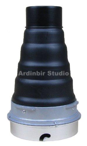 Ardinbir Studio Heavy Duty Metal Snoot with Honeycomb Grid for Elinchrom, Calumet Genesis & some interfit (EXD, EX) Strobe Monolight Light by Ardinbir Studio
