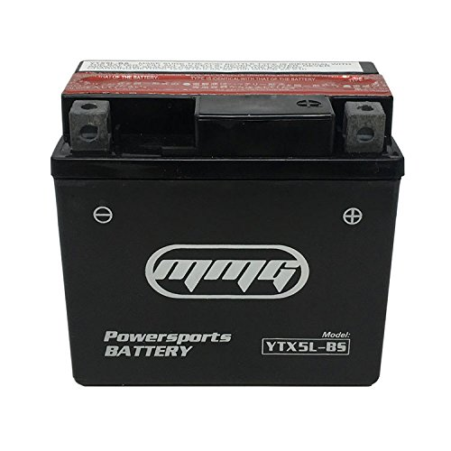 MMG High Performance Maintenance Free 12v Battery - Replaces YTX5L-BS PTX5L-BS CTX5L-BS by MMG (Image #5)