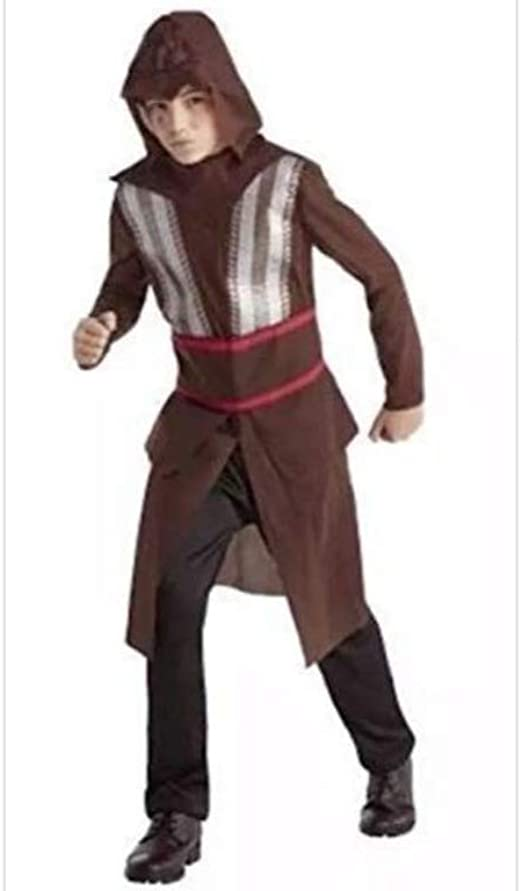 Amazon Com Boys Assassins Creed Aguilar Costume Teen Large Brown Clothing