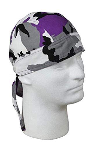 Ultra Violet (Purple) Camo Head Wrap