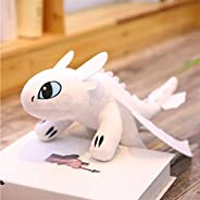 Mcttui Stuffed Dolls 19/25/35/45/60cm How To Train Your Dragon 3 Toothless Anime Figure Night Fury Light Fury