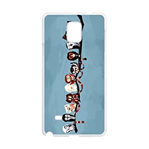 Distinctive birds on the tree twig Cell Phone Case for Samsung Galaxy Note4