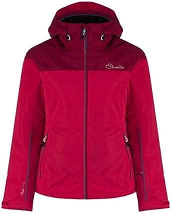 Berry Pink Texture//Duchess Pink Beckoned womens Dare 2b beckoned Womens Ski Jacket