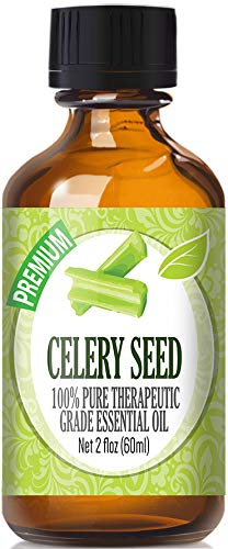 Celery Seed Essential Oil - 100% Pure Therapeutic Grade Celery Seed Oil - 60ml by Healing Solutions