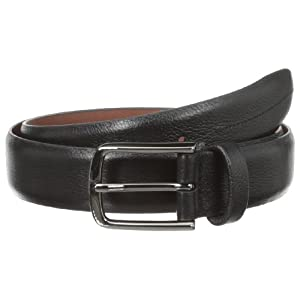 Perry Ellis Men's Park Ave Belt, Black, 38