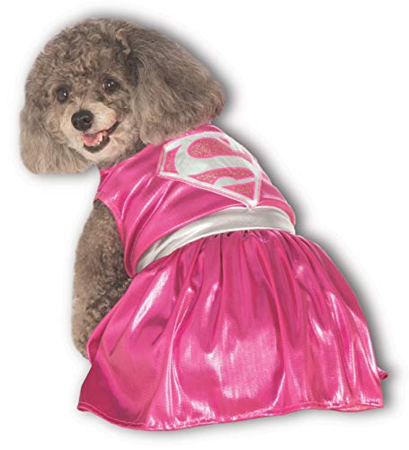DC Comics Pet Costume, X-Large, Pink Supergirl -