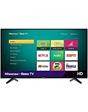 Hisense 40-Inch Class H4 Series LED Roku Smart TV with Alexa Compatibility (40H4F, 2020 Model)